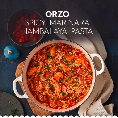 Barilla® Orzo Pasta Perspective: back