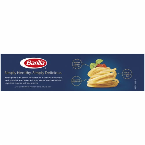 Barilla Spaghetti Rigati Pasta Perspective: back