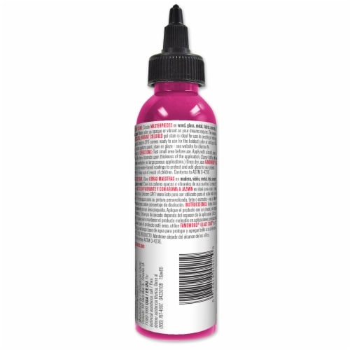 Unicorn SPiT Pixie Punk Pink Magenta Gel Stain & Glaze Perspective: back