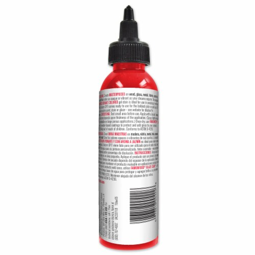 Unicorn SPiT Molly Red Pepper Gel Stain & Glaze - Red Perspective: back