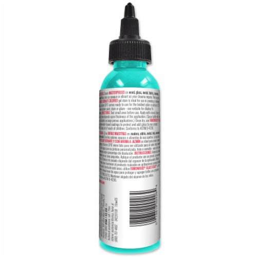 Unicorn SPiT Zia Gel Stain & Glaze - Turquoise Perspective: back