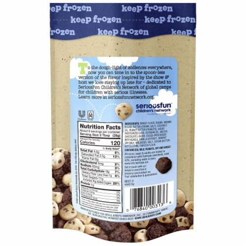Ben & Jerry's® The Tonight Dough Chunks Perspective: back