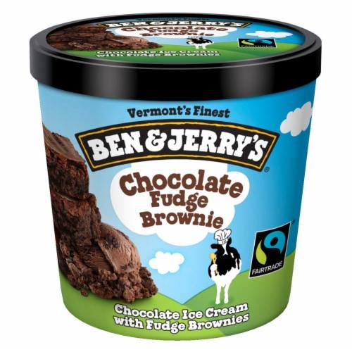 Ben & Jerry's® Chocolate Fudge Brownie Ice Cream Perspective: back
