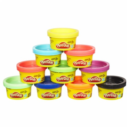 Play-Doh Party Pack 10 - 1oz cans Perspective: back