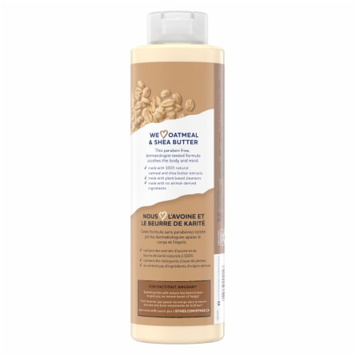 St. Ives Oatmeal & Shea Butter Soothing Body Wash Perspective: back