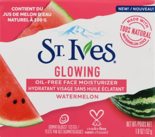 St. Ives Glowing Watermelon Oil-Free Face Moisturizer Perspective: back