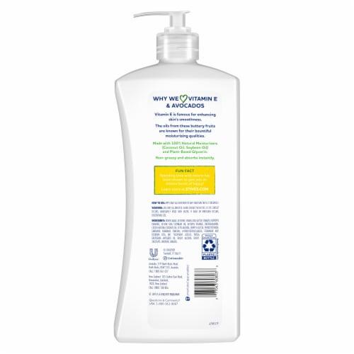 St. Ives Hydrating Vitamin E & Avocado Body Lotion Perspective: back