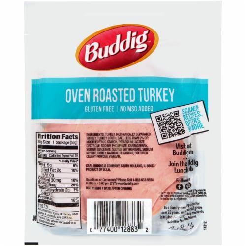 Buddig™ Oven Roasted Turkey Perspective: back