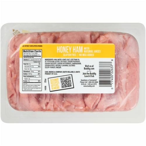 Buddig Honey Ham Mega Pack Perspective: back