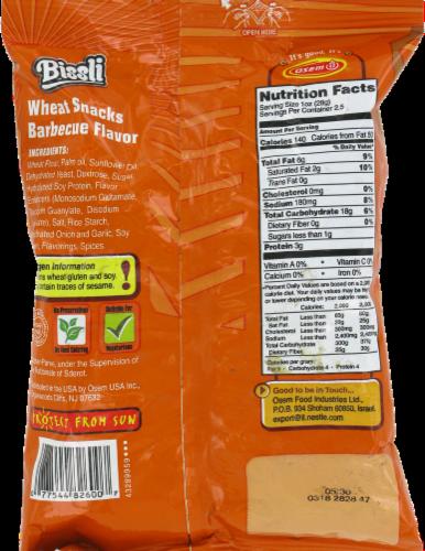 Osem Bissli BBQ Flavored Wheat Snacks Perspective: back