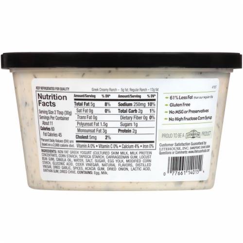 Opadipity by Litehouse Creamy Ranch Greek Yogurt Dip Perspective: back