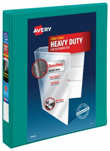 Avery Heavy Duty Clear Cover Binder - Assorted Perspective: back
