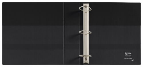 Avery Clear Cover Heavy Duty 3-Ring Binder – Assorted Perspective: back