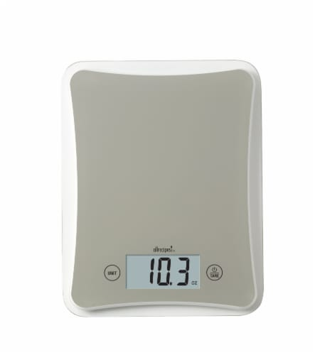 Allrecipes Glass Top Digital Kitchen Scale Perspective: back