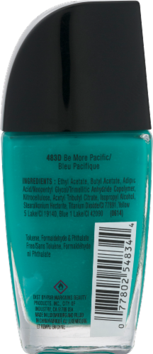Wet n Wild Wild Shine Be More Pacific Nail Polish Perspective: back