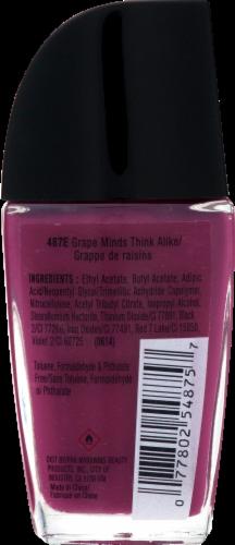 Wet n Wild Wild Shine Grape Minds Think Alike Nail Polish Perspective: back
