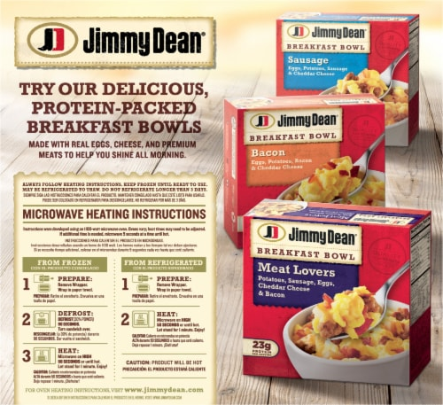 Jimmy Dean® Sausage Egg & Cheese Croissant Sandwiches Perspective: back
