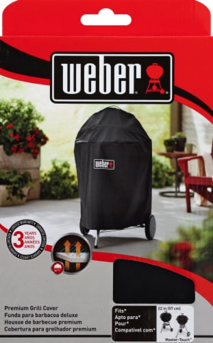 Weber Premium Grill Cover Perspective: back