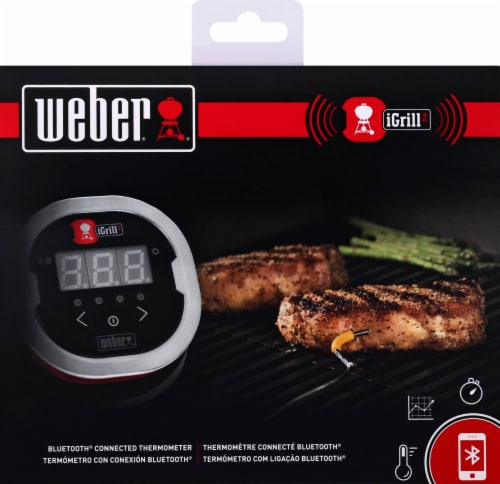 Weber iGrill 2 Bluetooth Connected Thermometer Perspective: back