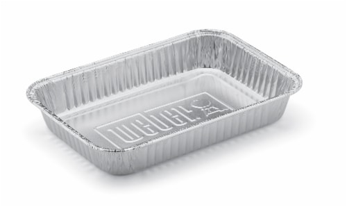 Weber Small Aluminum Drip Pans Perspective: back
