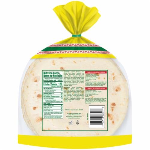 Calidad Soft Taco Flour Tortillas Perspective: back
