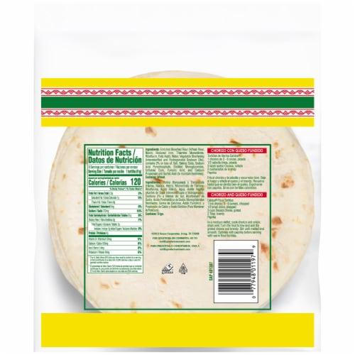 Calidad Flour Tortillas Perspective: back