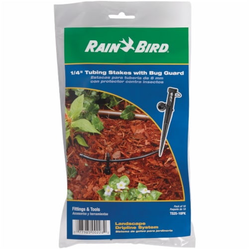 Rain Bird® Tubing Stakes with Bug Guard Perspective: back