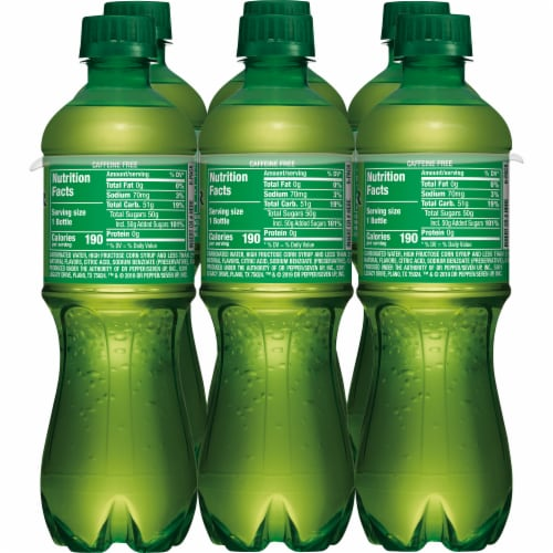 Canada Dry® Ginger Ale Soda Perspective: back