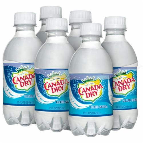 Canada Dry Club Soda Perspective: back