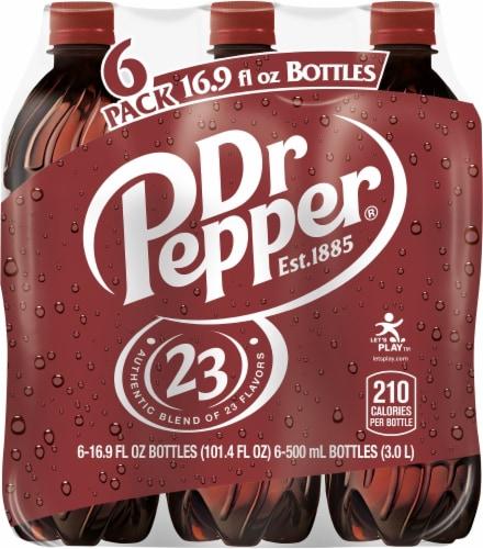 Dr Pepper Soda Perspective: back
