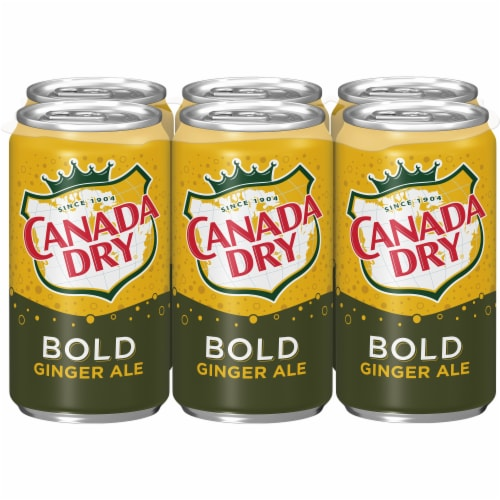 Canada Dry Bold Ginger Ale Perspective: back
