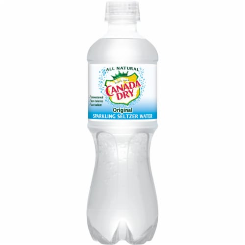 Canada Dry Original Sparkling Seltzer Water Perspective: back