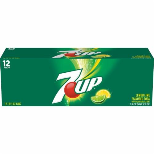 7UP Lemon-Lime Soda Perspective: back