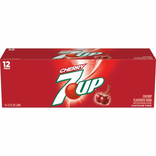 7UP Cherry Soda Perspective: back
