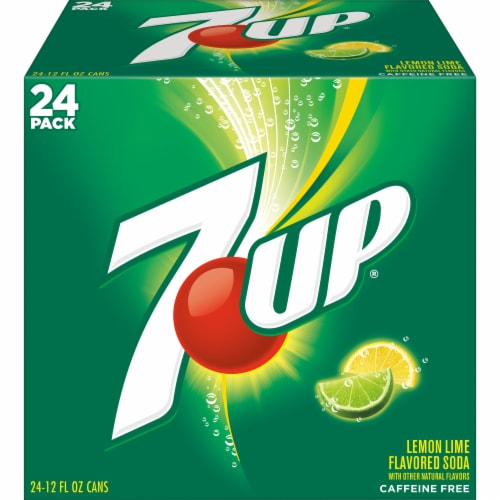 7UP Lemon Lime Soda Perspective: back
