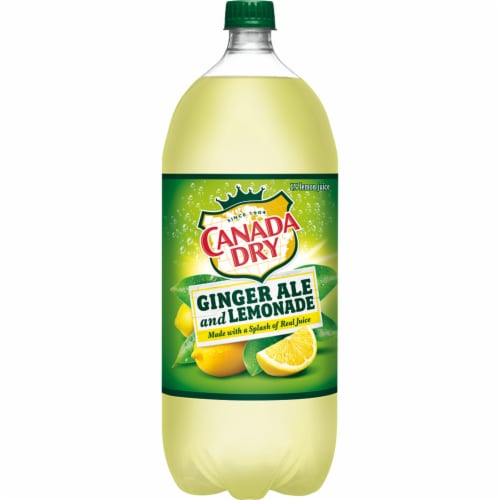 Canada Dry® Ginger Ale and Lemonade Perspective: back