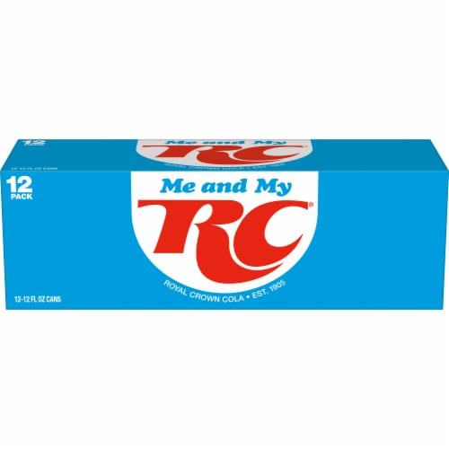 RC Cola Soda Perspective: back