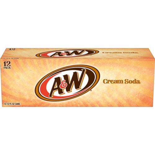 A&W Cream Soda Perspective: back