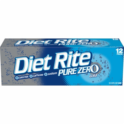 Diet Rite Cola Perspective: back