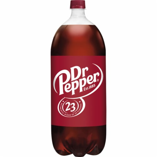 Dr Pepper Soda Perspective: back