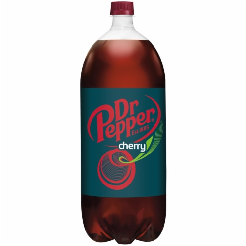 Dr Pepper Cherry Soda Perspective: back