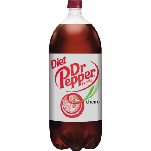 Dr Pepper Diet Cherry Soda Perspective: back
