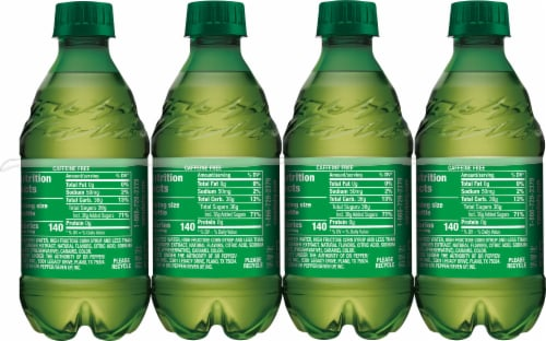 Canada Dry Ginger Ale Soda 8 Bottles Perspective: back