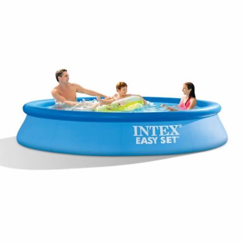 Bestway 43116E CoolerZ Rapid Rider Inflatable River Lake Pool Tube Float, Orange Perspective: back