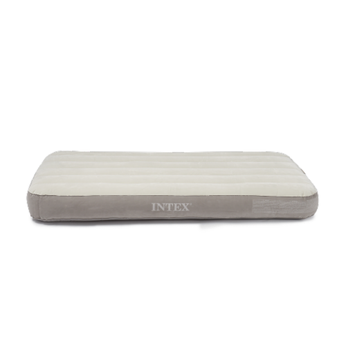 Deluxe Dura-Beam Twin Air Mattress without Pump, White Perspective: back