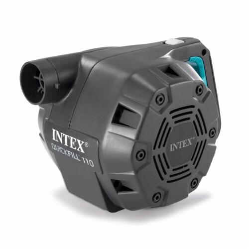 Intex Quick Fill 120 Volt AC Electric 38.9 CFM Inflatable Float & Air Bed Pump Perspective: back