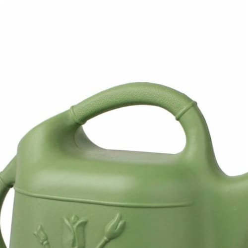 Union Products 63068 Plants & Garden 2 Gallon Plastic Watering Can, Sage Green Perspective: back