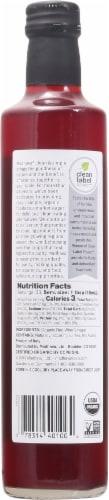 Madhava Organic Red Wine Vinegar Perspective: back