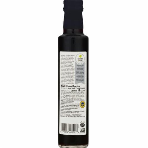 Madhava Organic Balsamic Vinegar Perspective: back