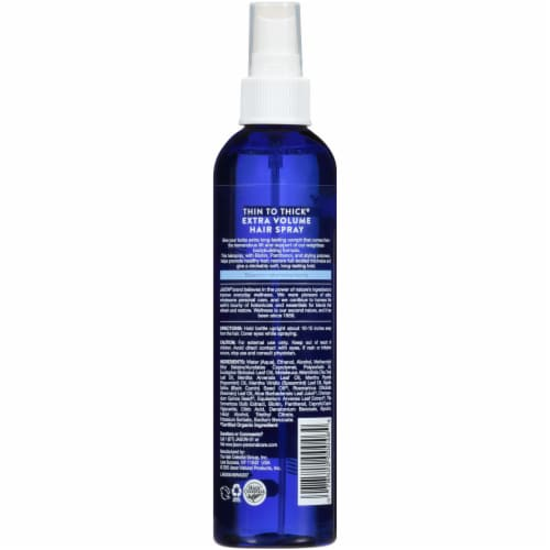Jason® Thin to Thick Extra Volume Hair Spray Perspective: back